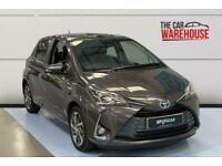 2020 Toyota Yaris 1.5 Hybrid Y20 5dr CVT [Bi-tone] Automatic Hatchback Petrol/El