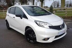 2017 66 Nissan Note 1.5 dCI BLACK EDITION 5 DOOR DIESEL MANUAL