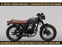 2017 MUTT MONGREL 125 EFI 125CC 0% DEPOSIT FINANCE AVAILABLE