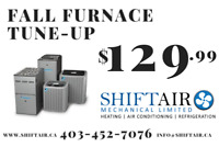 Furnace Maintenance Special - Only $129.99!