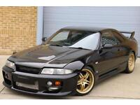 NISSAN SKYLINE GTST 2.5 Single Turbo 480 BHP Hybrid GT3076r, Black, STUNNING!!