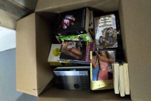 Box of miscellaneous book