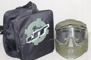 JT Paintball Mask and carrying bag