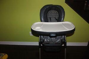 Chaise haute duo diner graco pour bébé