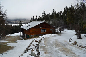 Three Bedroom Log Home on Private Setting