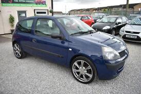 Renault Clio 1.2 ( 60bhp ) Campus 2006MY 3 DOOR BLUE