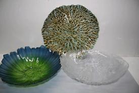 Amazing arrays of coloured fruit bowls