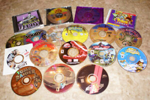18 CD-ROM Computer Games