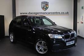 2012 62 BMW X3 2.0 XDRIVE20D M SPORT 5DR 181 BHP DIESEL