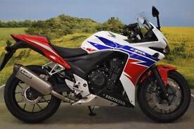 Honda CBR500R 2014**ABS, WAVY DISCS, H.I.S.S, PILLION GRAB RAIL**