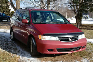 2002 Honda Odyssey EX-L Minivan, Van