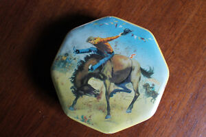 Toffee tin made in England by A.S. Wilkins Ltd