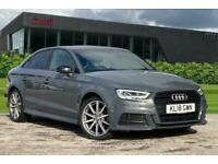 2018 Audi A3 Saloon Black Edition 1.5 TFSI cylinder on demand 150 PS S tronic A
