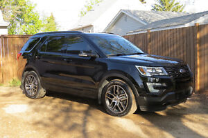 2016 Ford Explorer Sport Ecoboost 4wd SUV, Crossover - PST Paid