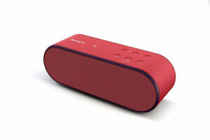 Sony SRSX2 Ultra-Portable NFC Bluetooth Wireless Speaker (Red)