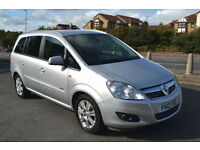 Vauxhall Zafira 1.8i 2012 Design, 42K MILES, FULL S/HISTORY, NEW MOT, 2 OWNER