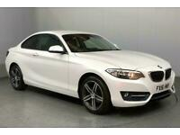2016 BMW 2 Series 218i Sport 2dr COUPE Petrol Manual