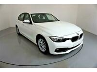 2017 WHITE BMW 320D 2.0 ED PLUS DIESEL MANUAL SALOON CAR FINANCE FR £201 PCM