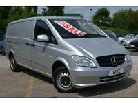 2013 Mercedes benz Vito 113 CDI Long Air Con 6 door Panel Van