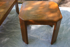 Vintage Old Coffee tables with nice surface