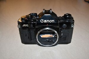 Canon A-1 Collector Quality SLR plus Canon Lenses