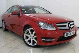2014 64 MERCEDES-BENZ C CLASS 2.1 C220 CDI AMG SPORT EDITION 2DR AUTOMATIC 168 B