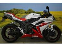 Yamaha YZFR1 2007**R&G FRAME PROTECTORS, BRAIDED LINES, AFTERMARKET EXHAUST**