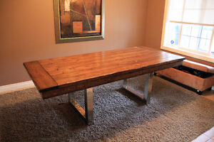 Custom Made Rustic Furniture (Toddler Tables, Benches, Etc) Strathcona County Edmonton Area image 3