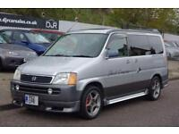 1996 P HONDA STEPWAGON 2.0 AUTO DAYVAN 8 SEATER WITH SINK AND GAS HOB