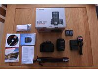 Canon EOS 100D DSLR with EF-S 18-55 IS STM Len