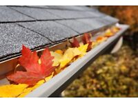 Gutter cleaning £10 off FOR THE NEXT TWO DAYS