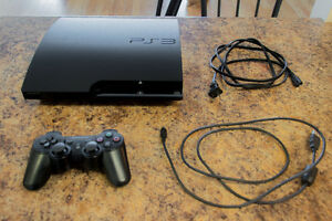 500gb PS3, No games
