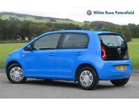 2015 Volkswagen UP Move up! 1.0 60 PS 5-speed manual 5 Door Petrol blue Manual