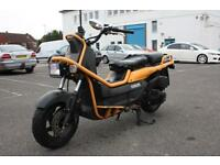 HONDA PS250 RUCKUS YELLOW, RARE IMPORT, COOL DIFFERENT MACHINE. CLASSIC
