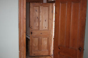 Wood Doors Circa 1870 From Old Stage Coach Stop House