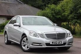 2012 MERCEDES E-CLASS E220 CDI BLUEEFFICIENCY S/S SE SALOON DIESEL