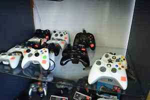 Assorted XBOX 360 Wireless/Wired Controllers (AA & Recharge)