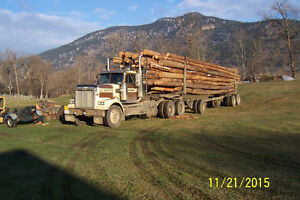 1996 WESTERN STAR TRUCK,JEEP AND 2000 PEERLESS POLE TRAILER