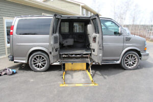 2013 Express, FULLY loaded accessibility van