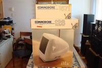 Vintage Apple : iMac M8546ll/C + Commodore 1571 DD &  128 KB