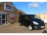 2015 FORD TRANSIT CUSTOM 290 TDCI 155 L1 H1 LIMITED DOUBLE CAB 6 SEAT CREW VAN S