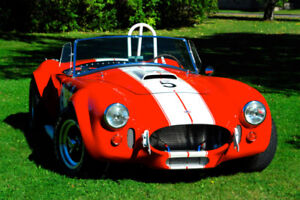 Ford Shelby AC Cobra 1965  512hp   Signée Carroll Shelby