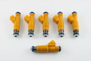 OE UPGRADE - Bosch EV6 4-hole injectors for 87-97 Jeep 4.0L
