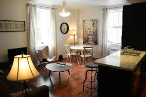 sunny 1-bedroom in Old Montreal