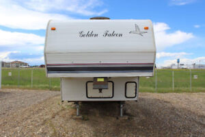 Golden Falcon 5th wheel and hitch