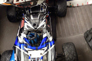 Rc helicopters and a nitro rc for sale