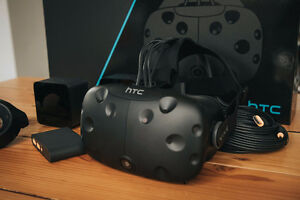 HTC VIVE, Complete Custom powerful gaming PC,Glass top Desk