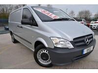 2011 Mercedes benz Vito 113CDI LONG Van 5 door Van