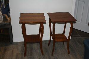 Pair of plant stands
