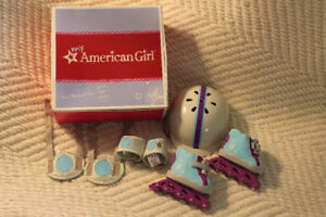 American Girl doll Rollerblading outfit with original box